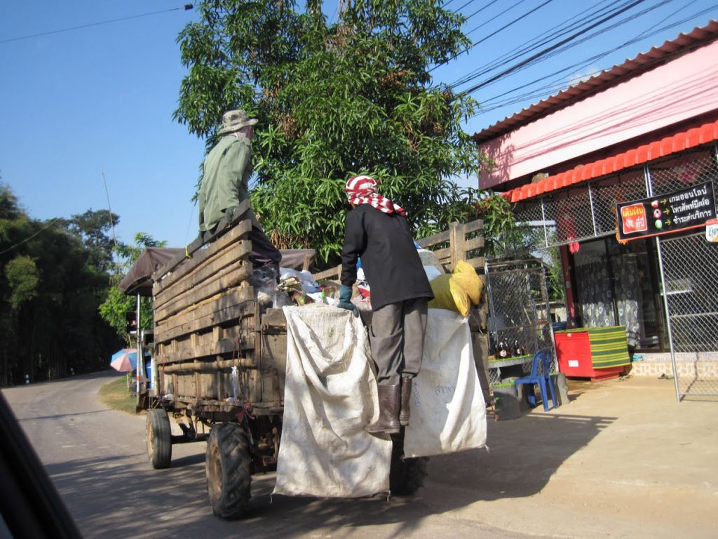 Sopbil i Thailand.