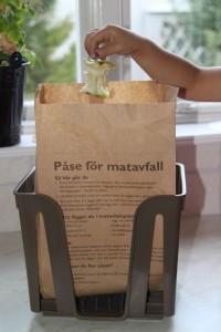 Matavfall som samlas in kan rötas til biogas, men bäst är förståss att det inte blir ett avfall.
