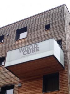 Wood Cube - ett hus helt i trä