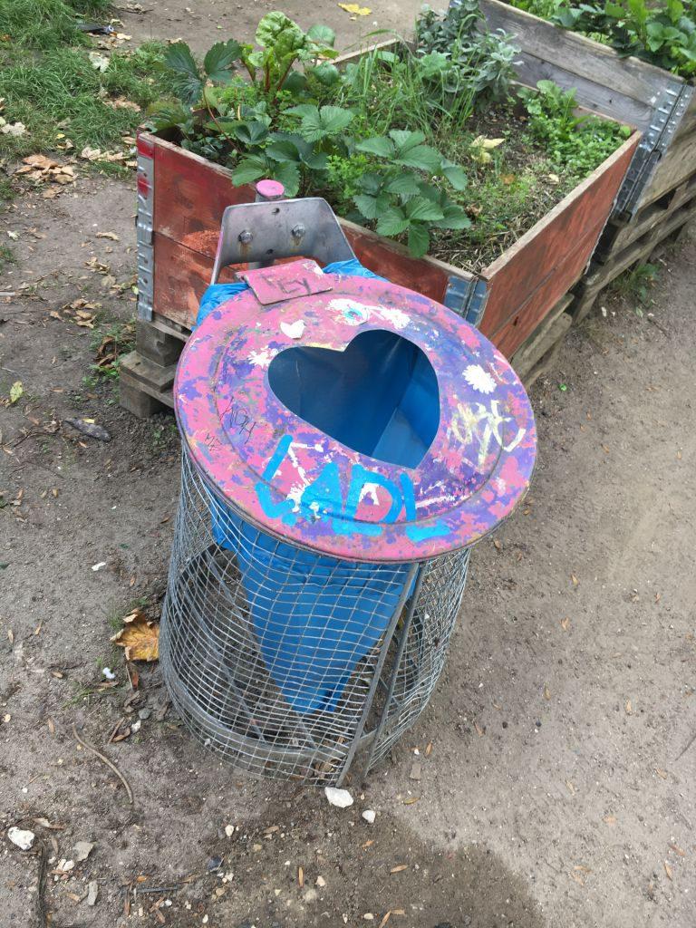 Hjärta avfall