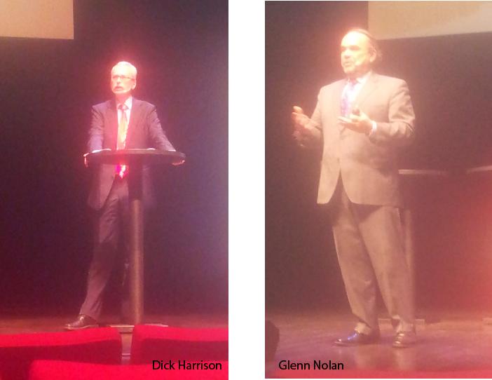 Dick Harrison och Glenn Nolan