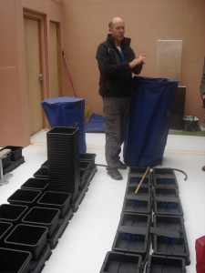 Odlingslådor för hydroponicodling