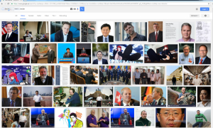 Googlesökning VD