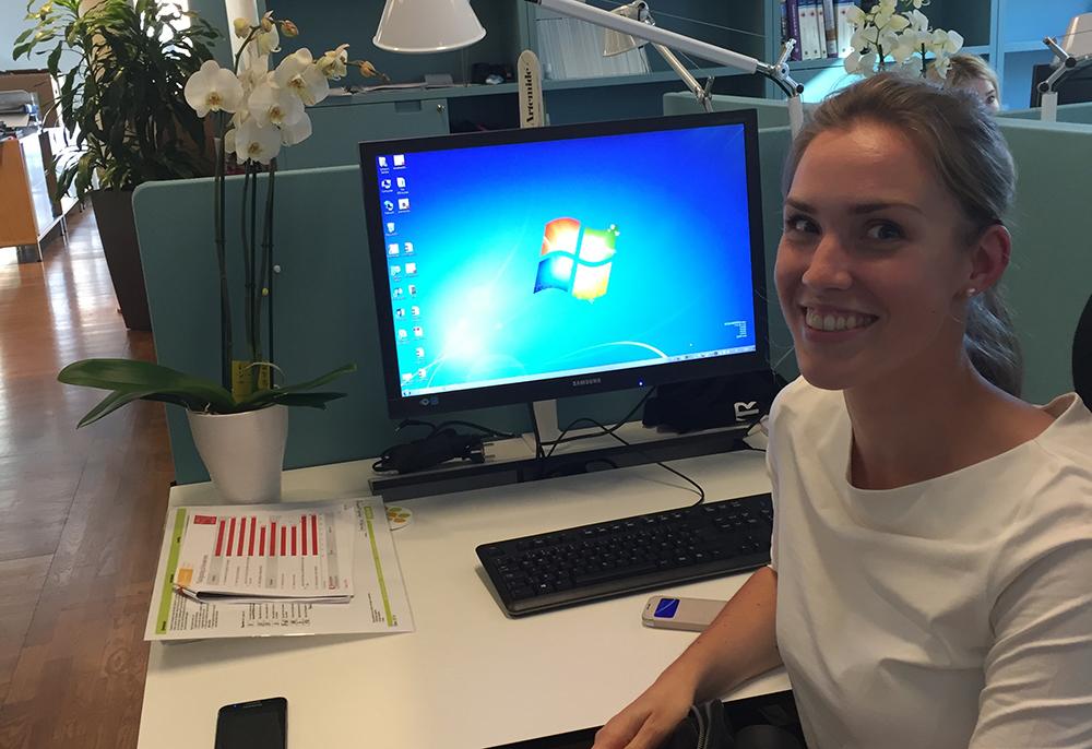 Sandra Jonsson, ny konsult på Tyréns