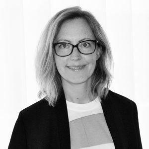 Marknadsanalytikern Sarah Bragée , Tyréns