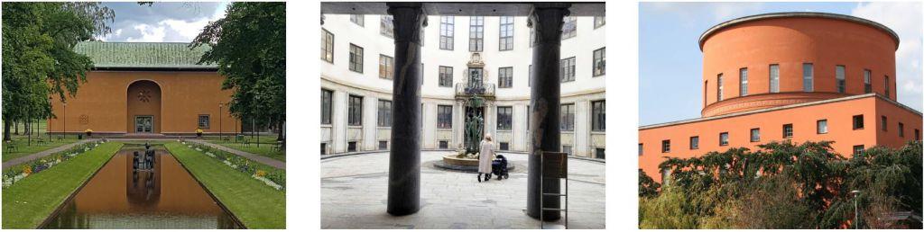 Värmlands museum, Tändstickspalatset och stadsbiblioteket i Stockholm