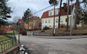Brandpost i Enskede